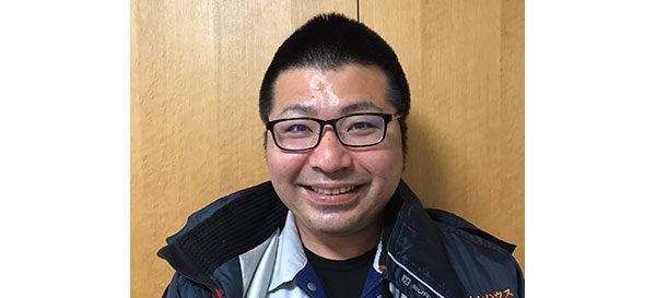 営業部係長代理 元野 宏紀